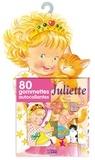 Doris Lauer - Juliette - 80 gommettes autocollantes.