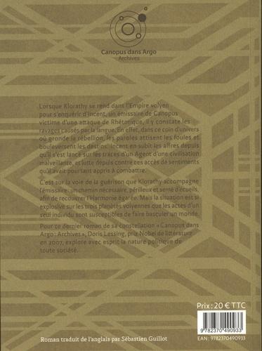 Canopus dans Argo : archives Tome 5 Les agents sentimentaux de l'empire volyen