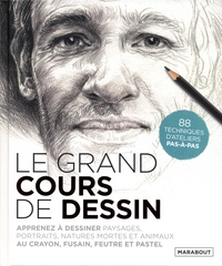 Dorling Kindersley - Le grand cours de dessin.
