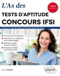 Dorone Parienti - L'As des tests d'aptitude concours IFSI - 8 tests blancs.