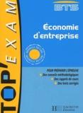 Dorothée Soret-Catteau et Philippe Senaux - Economie d'entreprise BTS toutes sections.