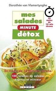 Dorothée Van Vlamertynghe - Mes salades minute détox.