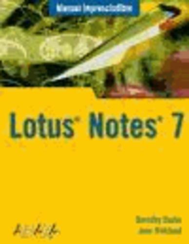 Dorothy Burke et Jane Kirkland - Lotus Notes 7.