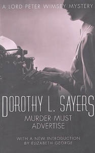 Dorothy Sayers - Murder must advertise.