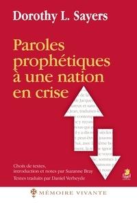 Dorothy Sayers - Paroles prophétiques à une nation en crise.