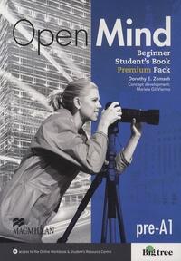 Dorothy Zemach - Open Mind - Beginner Student's Book, Premium Pack, pre-A1.