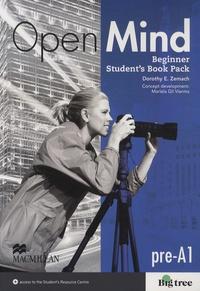 Dorothy Zemach - Open Mind - Beginner Student's Book Pack Pre-A1. 1 DVD
