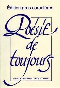 Dossiers d'Aquitaine - Poésie de toujours.