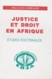 Doudou Ndoye - Justice et droit en Afrique.