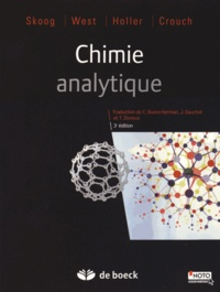 Douglas Skoog et Donald West - Chimie analytique.