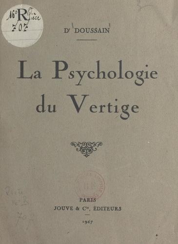 La psychologie du vertige