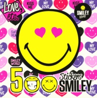 Dragon d'or - 500 stickers Smiley Love, etc..