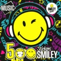 Dragon d'or - 500 stickers Smiley Music.