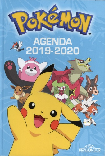 Dragon d'or - Agenda Pokémon.