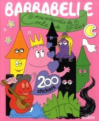 Dragon d'or - Barbabelle : mes activités conte de Fées - 200 stickers.