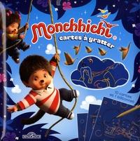 Dragon d'or - Cartes à gratter Monchhichi - 10 cartes et 1 bâtonnet.