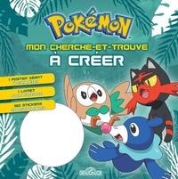 Dragon d'or - Cherche-et-trouve à créer Pokémon - Avec 1 poster géant, 1 livret, 150 stickers.