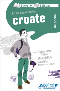 Dragoslav Jovanovic et Dora Glembay - Kit de conversation Croate. 1 CD audio