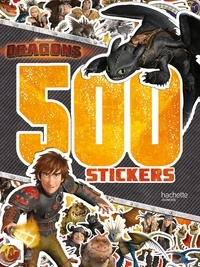 DreamWorks - 500 stickers Dragons.