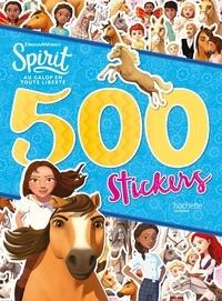 DreamWorks - 500 stickers Spirit, au galop en toute liberté.