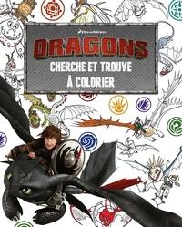 DreamWorks - Cherche et trouve à colorier Dragons.