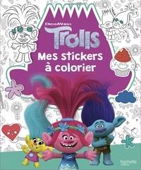 DreamWorks - Mes stickers à colorier Trolls.