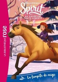 DreamWorks et Christelle Chatel - Spirit - Au galop en toute liberté Tome 4 : La tempête de neige.