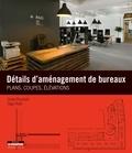 Drew Plunkett - Détails d'aménagement de bureaux - Plans, coupes, élévations.
