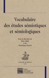 Driss Ablali et Dominique Ducard - Vocabulaire des études sémiotiques et sémiologiques.