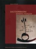 Driss Azdoud - Dictionnaire berbère-français.