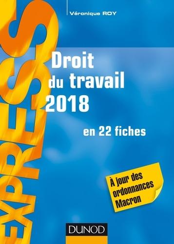 Droit du travail 2018 - Format PDF - 9782100780433 - 9,99 €