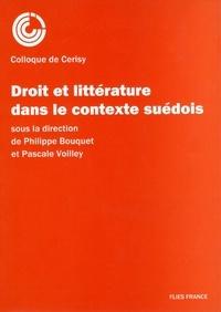 Philippe Bouquet - Droit et littérature dans le contexte suédois.