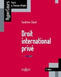 Droit international privé.