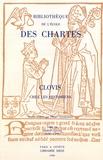 Olivier Guyotjeannin - Bibliothèque de l'Ecole des Chartes N° 154, janvier-juin : Clovis chez les historiens.