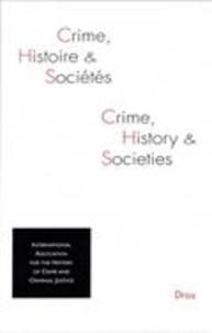 IAHCCJ - Crime, histoire et sociétés Volume 18, N° 1, 201 : .