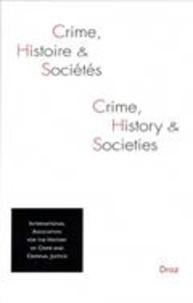 IAHCCJ - Crime, histoire et sociétés Volume 18, N° 2, 201 : .