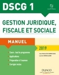 DSCG 1 - Gestion juridique, fiscale et sociale 2019 - Manuel.