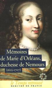 Goodtastepolice.fr Mémoires de Marie d'Orléans Duchesse de Nemours - Suivi de lettres inédites de Marguerite de Lorraine Duchesse d'Orléans Image