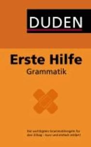 Duden - Erste Hilfe Grammatik.