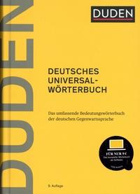Duden Verlag - Duden Deutsches Universalwörterbuch - Das umfassende Bedeutungswörterbuch der deutschen Gegenwartssprache.