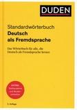 Duden Verlag - Standardwtwörterbuch Deutsch als Fremdsprache - Das Wörterbuch für alle, die Deutsch als Fremdsprache lernen.