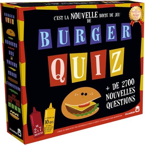 DUJARDIN - Jeu Burger Quiz