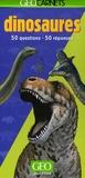 Duncan Crosbie - Dinosaures - 50 Questions, 50 réponses.
