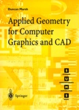 Duncan Marsh - APPLIED GEOMETRY FOR COMPUTER GRAPHICS AND CAD.