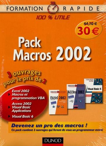 Dunod - Pack Macros 2002 - 3 volumes.