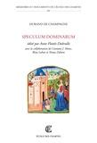 Durand de Champagne et Anne Flottès-Dubrulle - Speculum dominarum.