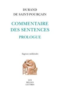 Durand de Saint-Pourçain - Commentaire des sentences.