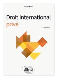 Dusan Kitic - Droit international privé.