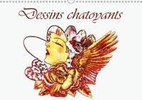 Dusanka Djeric - Dessins chatoyants (Calendrier mural 2017 DIN A3 horizontal) - Dessins couleur d'or (Calendrier anniversaire, 14 Pages ).