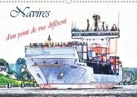 Dusanka Djeric - Navires d'un point de vue différent (Calendrier mural 2017 DIN A3 horizontal) - Une sélection des navires à passagers et cargos, d'un point de vue artistique. (Calendrier mensuel, 14 Pages ).